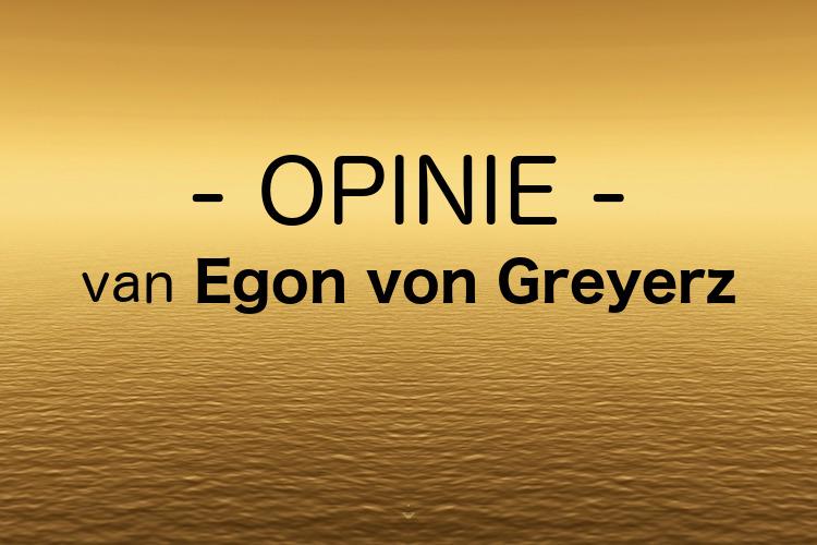 De goudprijs is niet de p[rijs van goud door Egon von Greyerz