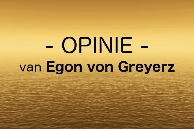 Goudprijs niet omhoog, de waarde van papiergeld daalt! Opiniestuk door Egon von Greyerz